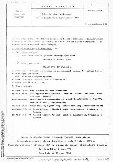 Tabor kolejowy wąskotorowy - Klocek hamulcowy jednowstawkowy WW3 BN-63/3517-05