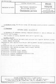 Tabor kolejowy wąskotorowy - Osprzęt kotła parowozu - Gwizdawka parowa BN-65/9312-06