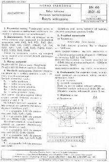 Tabor kolejowy - Parowozy normalnotorowe - Ruszty wstrząsne BN-66/3521-10