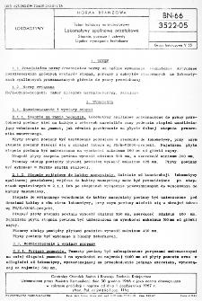 Tabor kolejowy normalnotorowy - Lokomotywy spalinowe przetokowe - Stopnie, poręcze i uchwyty - Ogólne wymagania techniczne BN-66/3522-05