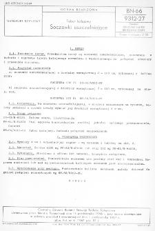 Tabor kolejowy - Soczewki uszczelniające BN-66/9312-27