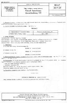 Tabor kolejowy normalnotorowy - Klocek hamulcowy dwuwstawkowy D3 BN-67/3517-29