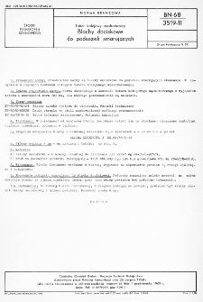 Tabor kolejowy normalnotorowy - Blachy dociskowe do poduszek smarujących BN-68/3519-11