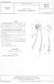 Przybory stacyjne - Plombownica wagonowa BN-69/9311-11