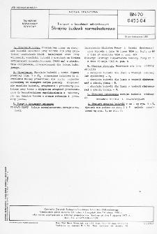 Transport w kopalniach odkrywkowych - Skrajnia budowli nomalnotorowa BN-70/0455-04