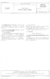 Tabor kolejowy - Korek wlewu paliwa BN-70/3522-06