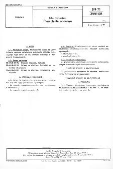Tabor tramwajowy - Pierścienie oporowe BN-71/3551-08