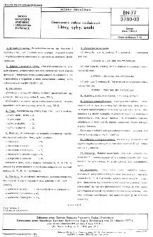 Oznakowanie statków śródlądowych - Litery, cyfry, znaki BN-77/3780-03