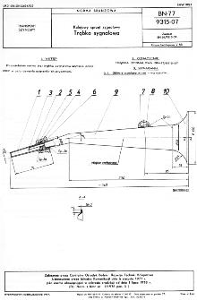 Kolejowy sprzęt sygnałowy - Trąbka sygnałowa BN-77/9315-07