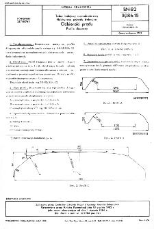 Tabor kolejowy normalnotorowy - Elektryczne pojazdy trakcyjne - Odbieraki prądu - Profile ślizgaczy BN-82/3086-15