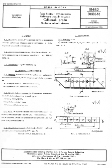 Tabor kolejowy normalnotorowy - Elektryczne pojazdy trakcyjne - Odbieraki prądu - Miedziane nakładki stykowe BN-82/3086-16