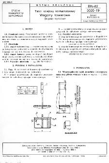 Tabor kolejowy normalnotorowy - Wagony towarowe - Stopnie końcowe BN-82/3535-19