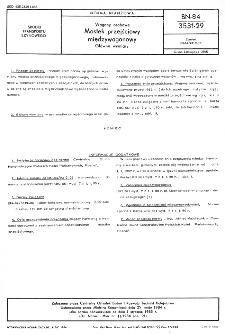 Wagony osobowe - Mostek przejściowy międzywagonowy - Główne wymiary BN-84/3531-29