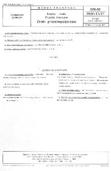 Napisy i znaki - Pojazdy trakcyjne - Znaki przeciwpożarowe BN-86/3500-13/27