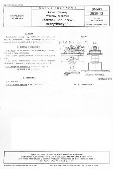 Tabor kolejowy - Wagony osobowe - Zatrzaski do drzwi skrzydłowych BN-91/3535-13