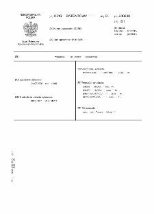 Wytłaczarka do tworzyw polimerowych : opis patentowy nr 208838