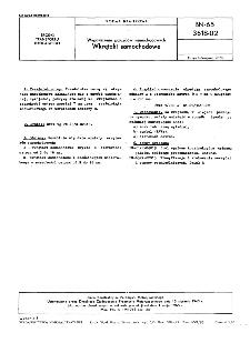 Wyposażenie pojazdów samochodowych - Wkrętaki samochodowe BN-65/3618-02