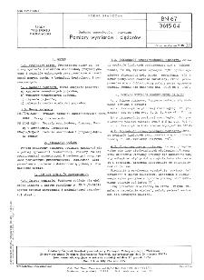 Badania samochodów i przyczep - Pomiary wymiarów i ciężarów BN-67/3615-04
