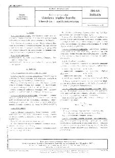 Badania samochodów - Ustalenie błędów licznika kilometrów i szybkościomierza BN-68/3615-05