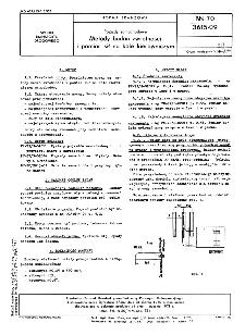 Pojazdy samochodowe - Metody badań zwrotności i pomiar sił na kole kierowniczym BN-70/3615-09