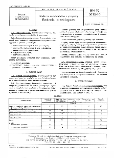 Badania samochodów i przyczep - Badania przebiegowe BN-70/3615-10