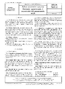 Badania samochodów i przyczep - Badanie ogrzewania i zapocenia lub zamarzania szyb BN-70/3615-11