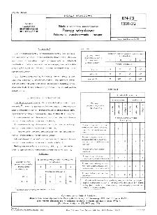 Silniki z zapłonem samoczynnym - Pompy wryskowe - Pakowanie, przechowywanie i transport BN-73/1301-02