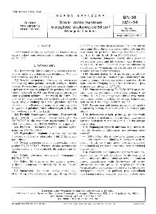 Silniki motorowerowe o objętości skokowej do 50 cm³ - Wymagania i badania - BN-80/1354-04