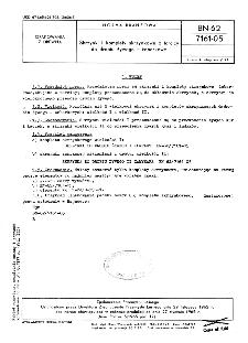Skrzynki i komplety skrzynkowe z tarcicy do drobiu żywego - żeberkowe BN-62/7161-05