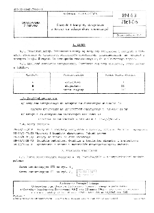 Skrzynki i komplety skrzynkowe z tarcicy do odczynników chemicznych BN-63/7161-06