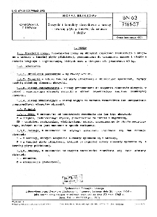 Skrzynki i komplety skrzynkowe z tarcicy i twardej płyty pilśniowej do smarów i olejów BN-63/7161-07