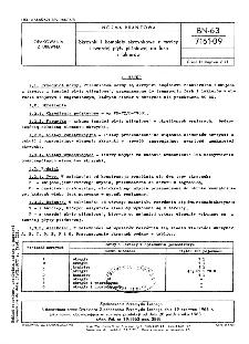 Skrzynki i komplety skrzynkowe z tarcicy i twardej płyty pilśniowej do farb i lakierów BN-63/7161-09