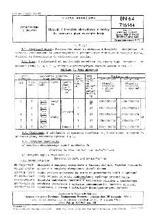 Skrzynki i komplety skrzynkowe z tarcicy do przewozu piwa wewnątrz kraju BN-64/7161-14