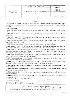 Opakowania transportowe drewniane - Faski BN-67/7163-04