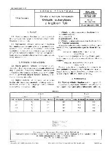Wyroby z tworzyw korkowych - Wkładki suberytowe z krążkiem folii BN-68/6752-09