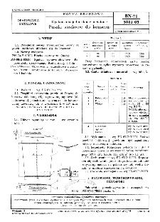Opakowania jednostkowe metalowe - Puszki stożkowe do konserw BN-71/5041-05