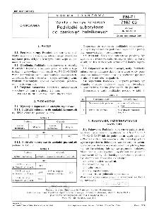 Wyroby z tworzyw korkowych - Podkładki suberytowe do zamknięć butelkowych BN-71/7167-03