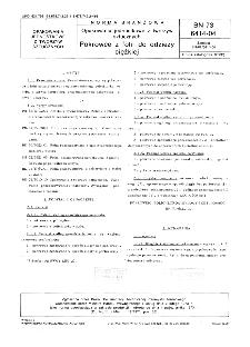 Opakowania jednostkowe z tworzyw sztucznych - Pokrowce z folii do odzieży ciężkiej BN-73/6414-04