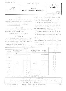 Aluminium - Krążki na puszki aerozolowe BN-76/0832-22
