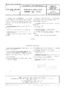 Opakowania szklane leków - Butelki typu LC-b/1 BN-76/6831-03