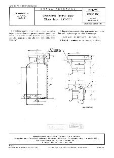 Opakowania szklane leków - Słoje typu LC-S/1 BN-76/6833-02