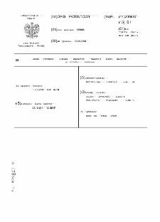 Sposób wytwarzania granulatu organicznych nawozów z osadów ściekowych po fermentacji metanowej : opis patentowy nr 209847