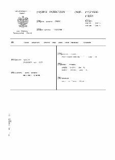 Sposób uaktywniania przetwór czego układu uplastyczniającego wytłaczarek : opis patentowy nr 210265