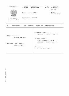Sposób wytwarzania asfaltu ekologicznego o niskiej emisji związków rakotwórczych : opis patentowy nr 209237