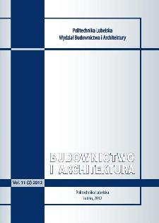 Budownictwo i Architektura Vol. 11(2)2012