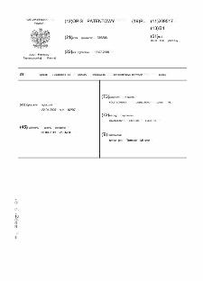 Sposób i urządzenie do pomiaru właściwości powierzchniowo aktywnych cieczy : opis patentowy nr 209517