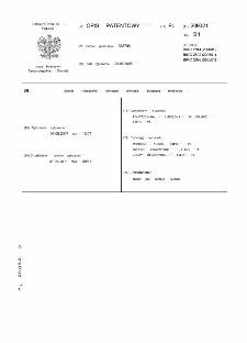 Sposób i urządzenie blokujące podwozie, zwłaszcza śmigłowca : opis patentowy nr 209321