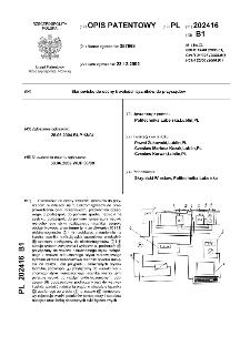 Stanowisko do oceny trwałości łączników do przyrządów : opis patentowy nr 202416
