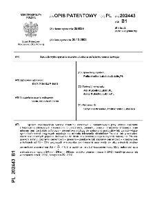 Sposób wykonywania warstw z betonu asfaltowo-cementowego : opis patentowy nr 202443