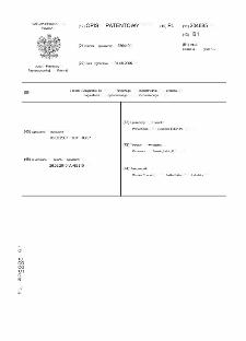 Sposób i urządzenie do fizycznego modelowania procesu nagniatania dynamicznego, rozproszonego : opis patentowy nr 204685